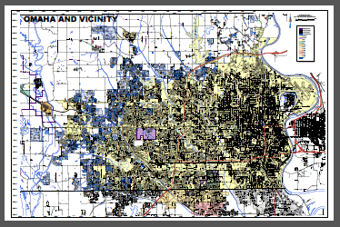 Omaha and Vicinity with SIDs - Color